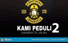 B'Brother Harley Davidson Peduli Covid-19 (Part 2)