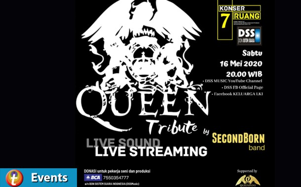 QueenIndo Charity and Tribute to Queen bersama SecondBorn Band