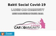 Bakti Social Covid-19 bersama Ladies Car Community