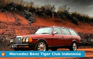 Sang Macan Legendaris dari Mercedez Benz Tiger Club Indonesia