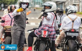 Driving Bersama Lady Bikers Indonesia