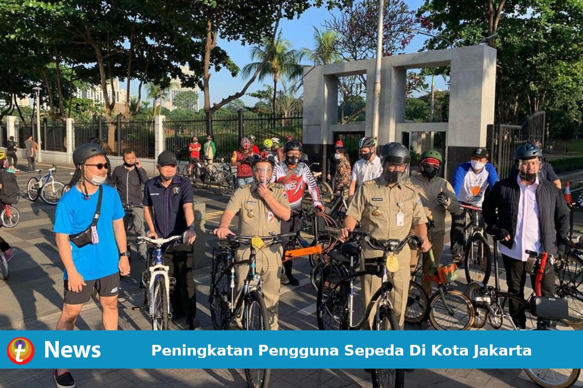 Peningkatan Pengguna Sepeda Di Kota Jakarta