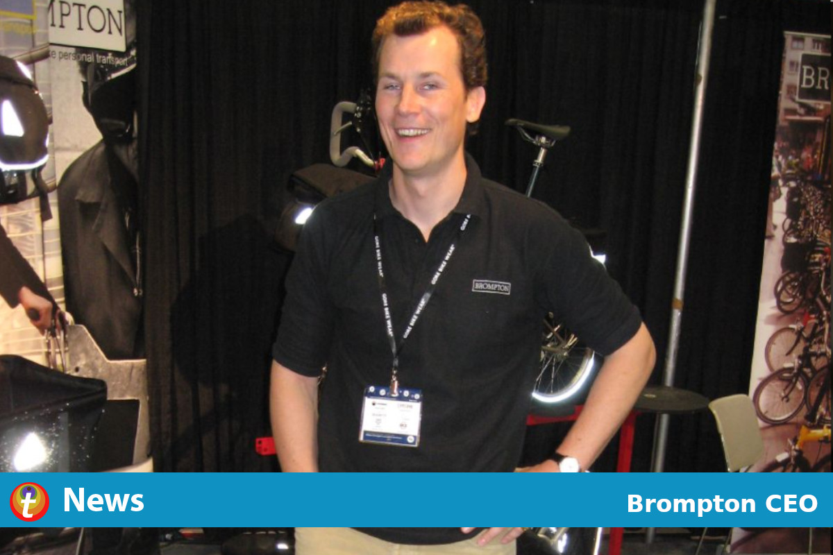 Seruan CEO Sepeda Brompton Untuk Investasi Dalam Infrastruktur Bersepeda