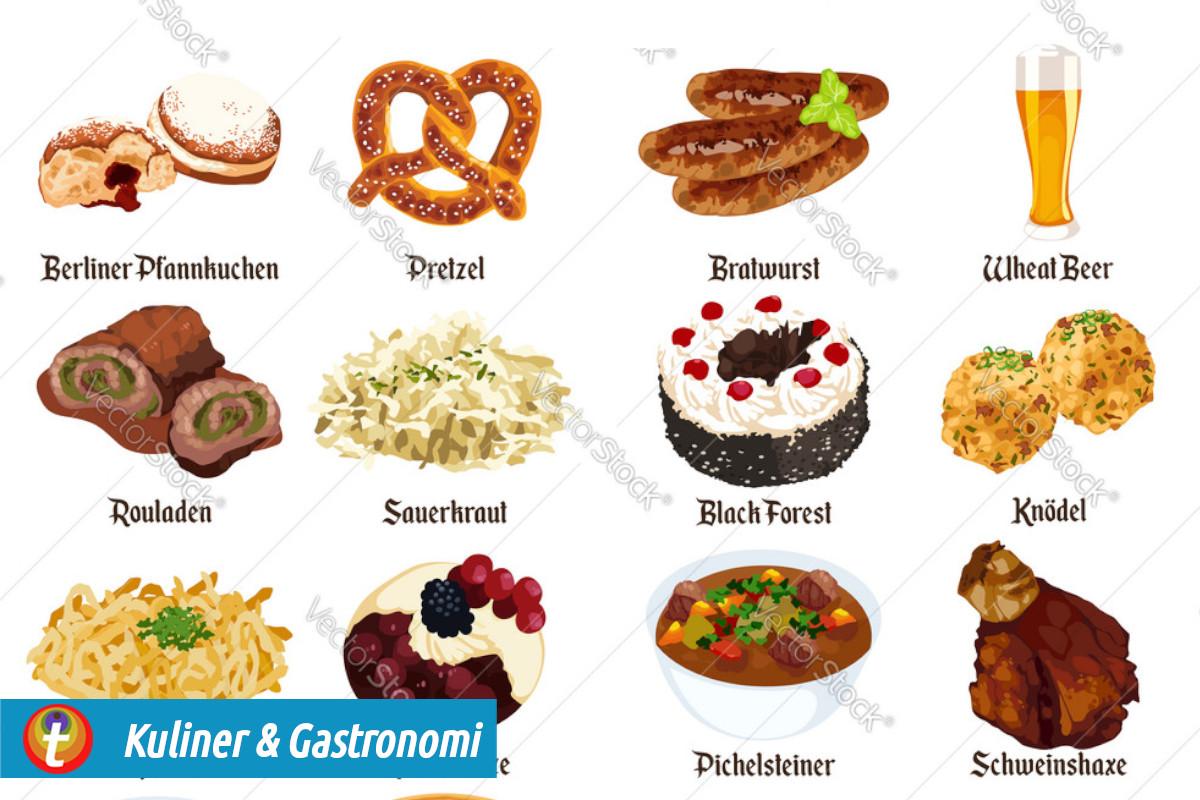 Top Ten Kuliner Jerman