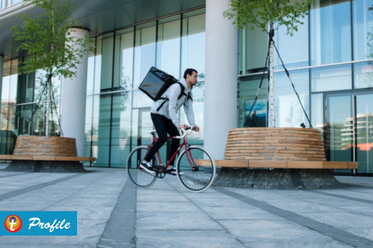 Sisi Lain Bersepeda Dalam Bisnis Pelayanan Jasa Antar Barang