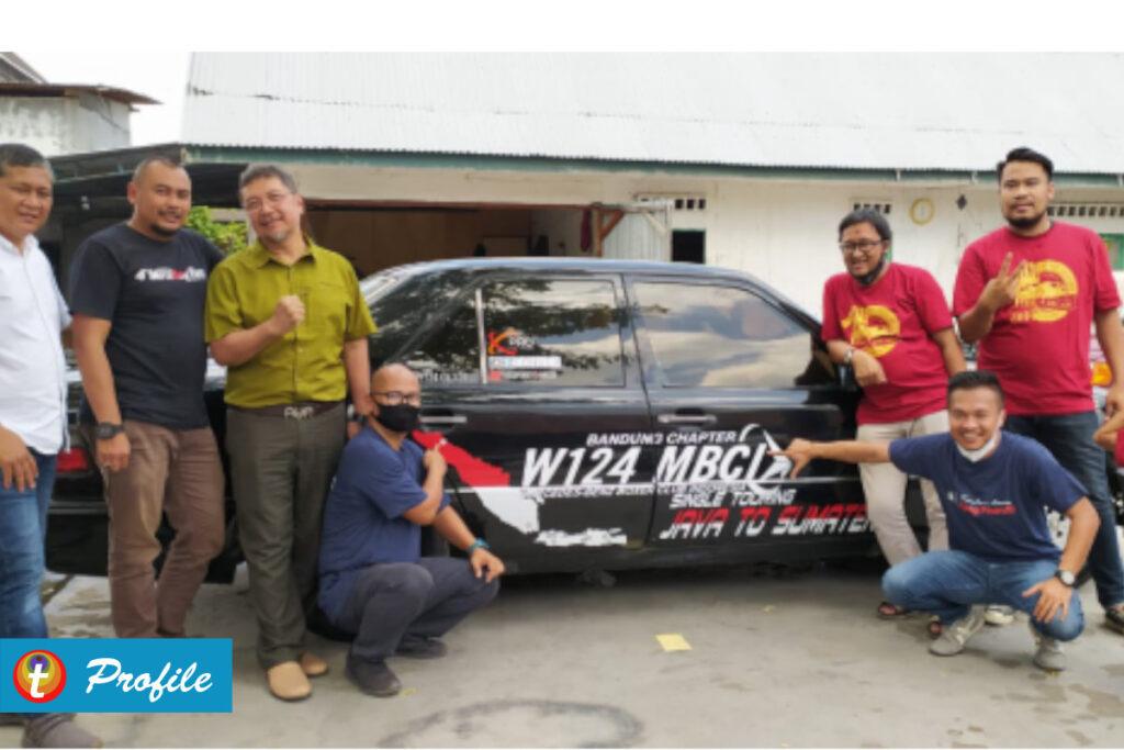 Single Touring Jawa - Sumatera MBCI W124 Bandung Chapter 4
