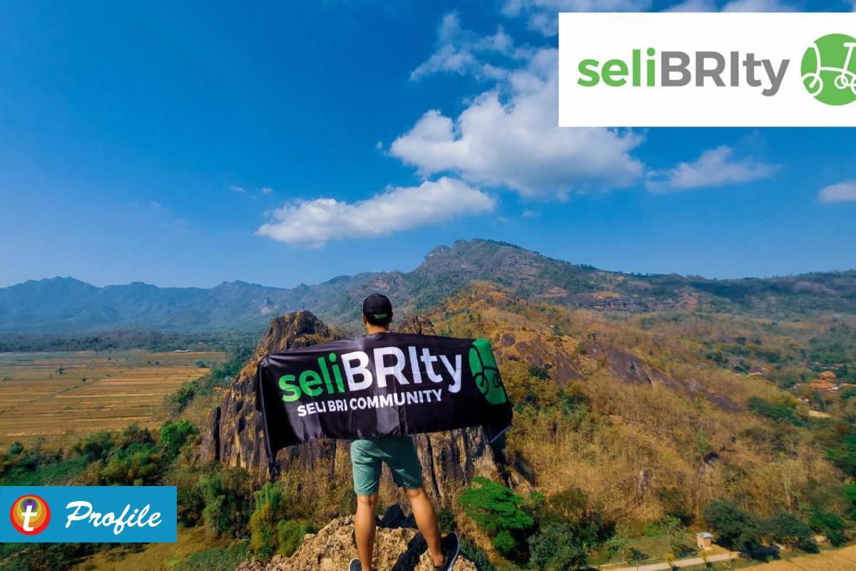 Bersepeda Bersama Para seliBRIty dari Bank BRI